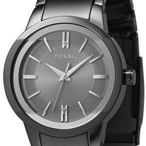 Fossil gunmetal gray watch